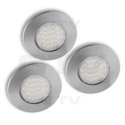 Šviestuvai LED Barri (3 vnt)