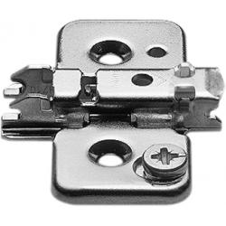 Clip plokštelė su ekscentriniu reguliavimu, +0mm