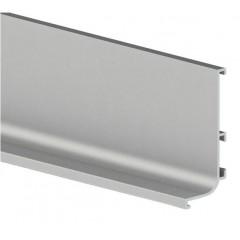 Vello viršutinis profilis L horizontalus, aliuminis (4,1 m)