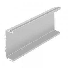 Vello centrinis profilis C horizontalus, aliuminis (4,1 m)