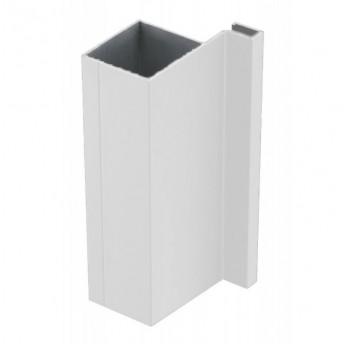 Vello šoninis profilis J vertikalus, baltas (3 m)
