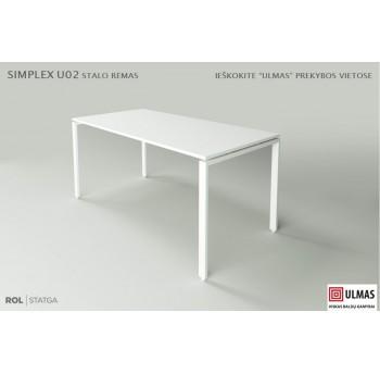 """Stalo rėmo """"Simplex 2"""" sija L-1300mm (kompl.)"""