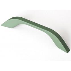 """Žalia matinė """"soft touch"""" rankenėlė UU17"""