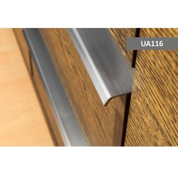 Šlifuoto plieno rankenėlė UA116