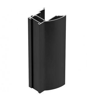 Rankenos profilis juodas NOVOS 18mm (2,7 m)