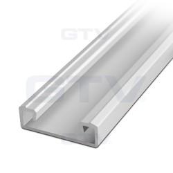 Aliuminio profilis LED juostoms (anoduotas, prisukamas)