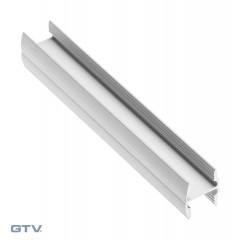 Profilis HR10 baltas 10/4 mm (3 m)