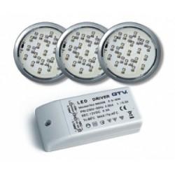 Šviestuvų k-tas LED