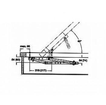 Lovos pakėlimo mechanizmas KP-4